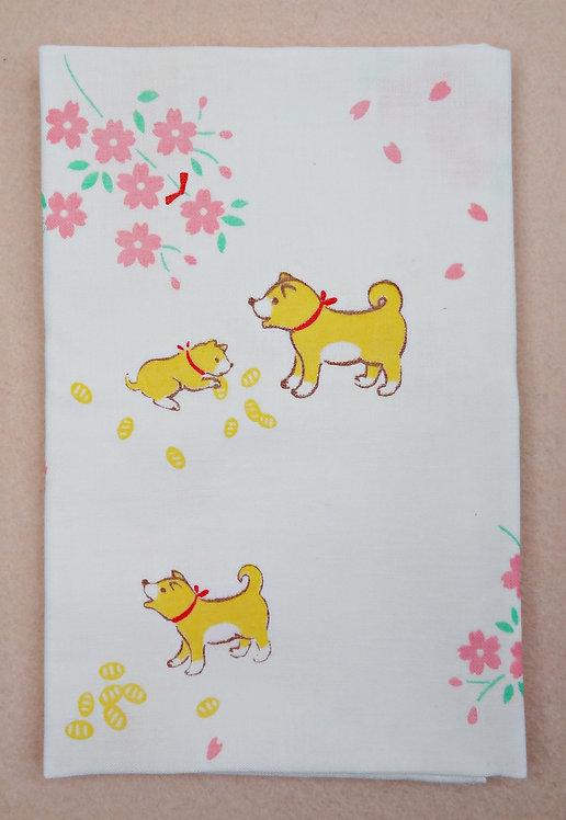 D02297 日本柴犬手巾
