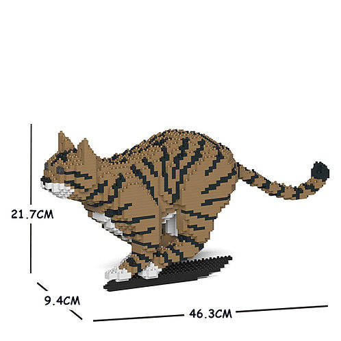 Brown Tabby Cat 18S-M04 (需訂貨)