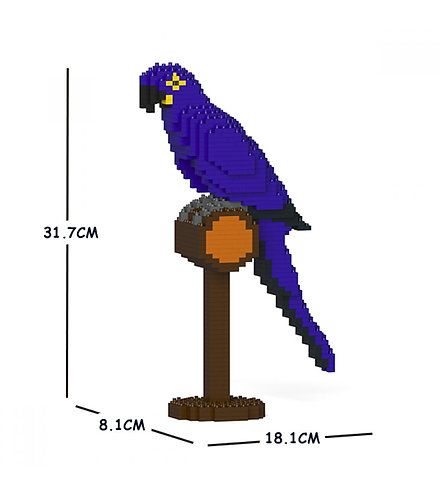 Jekca 青藍金剛鸚鵡 Hyacinth Macaw 01S (需訂貨)