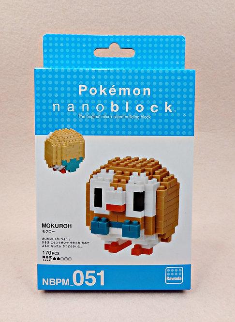 nanablock NBPM_051 Pokemon Mokuroh