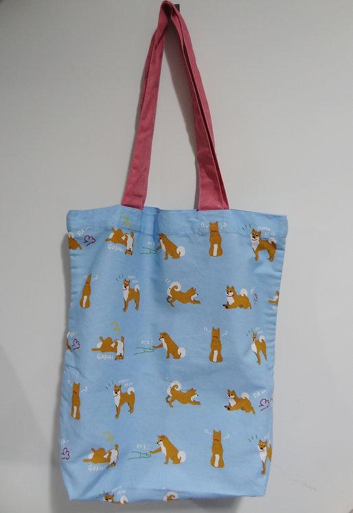 D01799_1 柴田tote bag(粉藍)