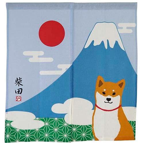 D01821_11 柴田門簾_赤柴富士山
