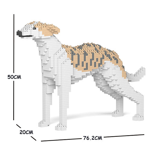 惠比特犬 Whippet Dog 01C M size (需訂貨)