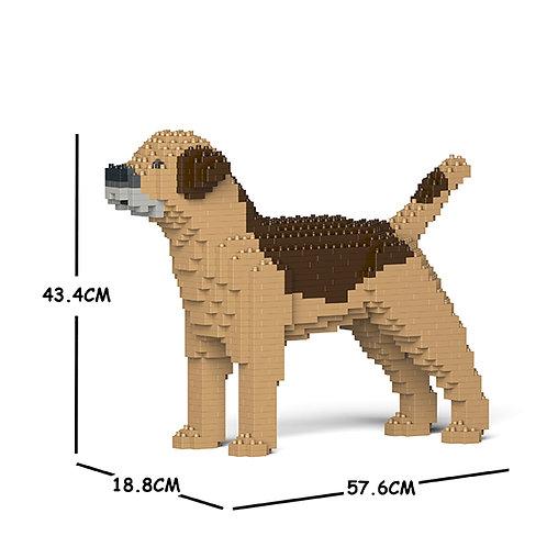 邊境㹴 Border Terrier 01C-M02 M size (需訂貨)