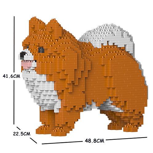 松鼠狗 Pomeranian 02C-M05 M size (需訂貨)