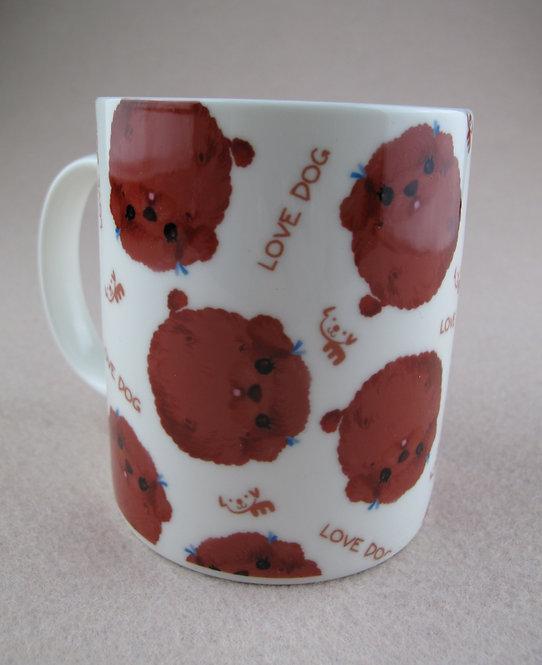 D00938 幸福小貴婦瓦杯