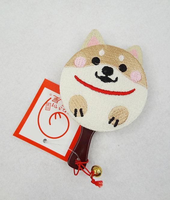 D02202_1 柴犬鏡仔_白