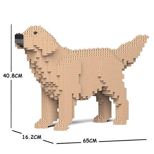 金毛尋回犬 Golden Retriever 02C-M03 M size (需訂貨)