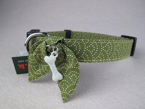 D00995 Amo.k日本製和風頸飾 - 綠(L)