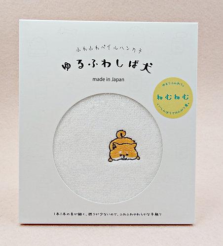 D02686_4 日本製全棉刺繡毛巾_ねむねむ