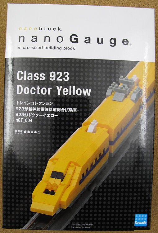 nGT_004 Class 923 Doctor Yellow
