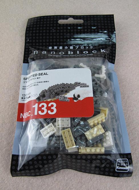 nanoblock NBC_133H Spotted Seal
