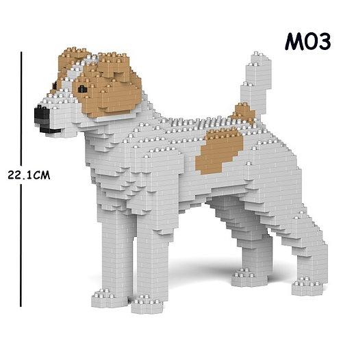 積羅素 Jack Russell Terrier 01S-M03 S size (需訂貨)