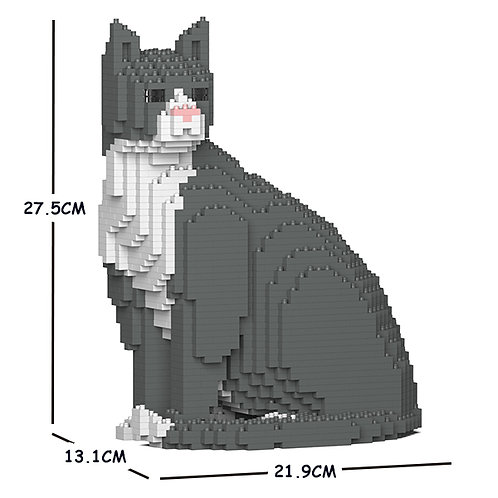 Grey Tuxedo Cat 01S (需訂貨)