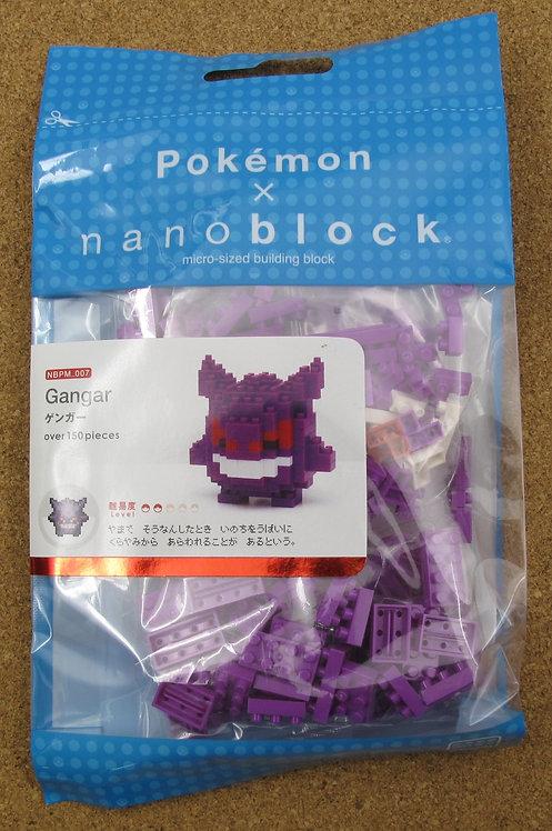 nanoblock NBPM_007 Pokemon Gangar