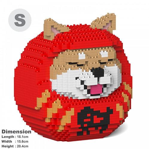 柴犬達摩 Shiba Daruma Doll 01S-M01 (需訂貨)