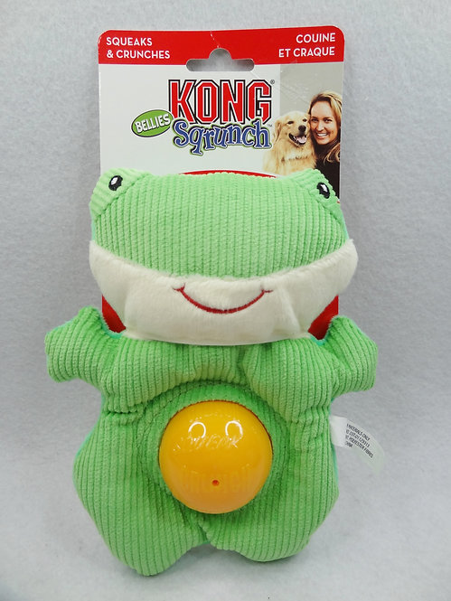 D01964 Kong® SQRUNCH Bellies Frog_Medium