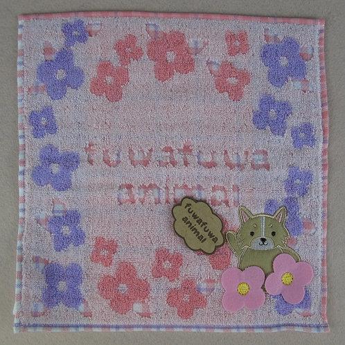 C018 fuwafuwa animals 柴犬毛巾