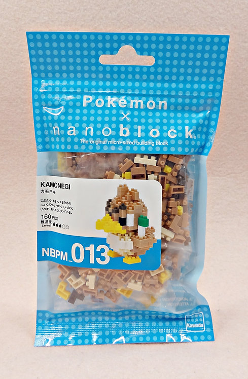 nanoblock NBPM_013 Pokemon Kamonegi
