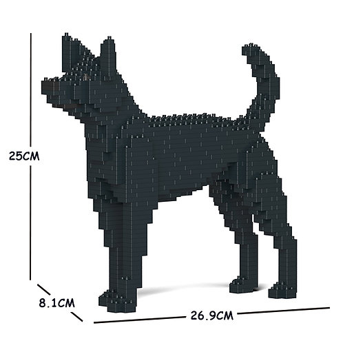 台灣犬 Formosan Mountain Dog 01S S size (需訂貨)