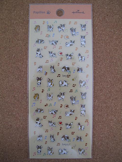 D00112 Hallmark 蝴蝶犬貼紙