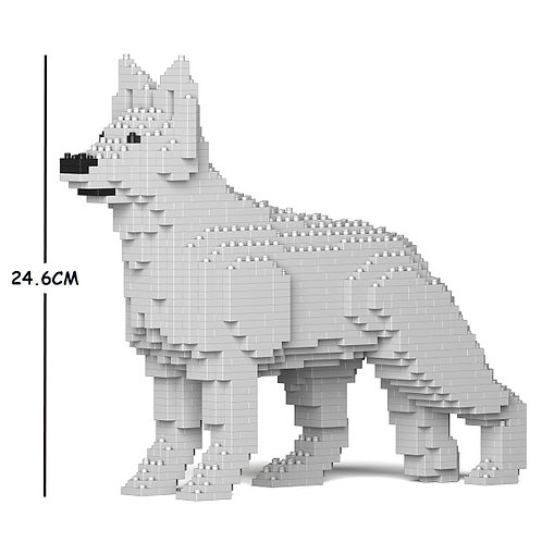 德國牧羊犬 German Shepherd 01S-M02 S size (需訂貨)