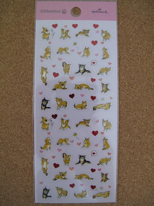 D00111 Hallmark 芝娃娃貼紙