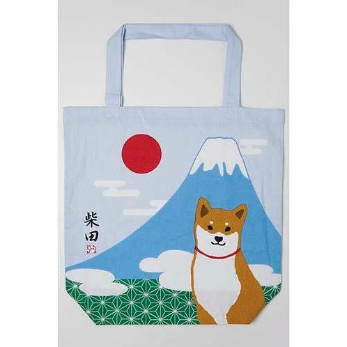 D01799 _39 柴田大size tote bag(富士山赤柴)