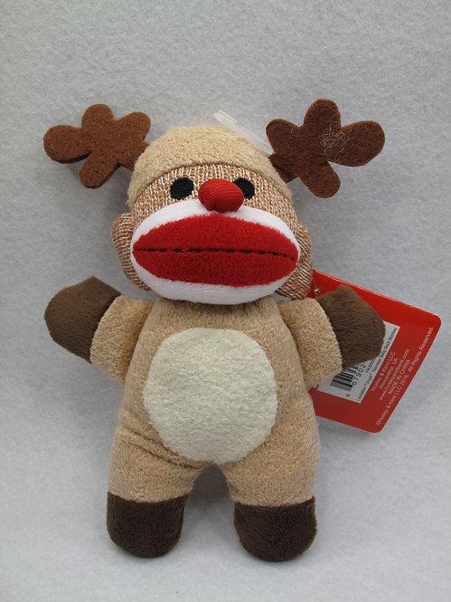 D01691_3 Lulubelle's Sock Monkey Baby J-Reindeer