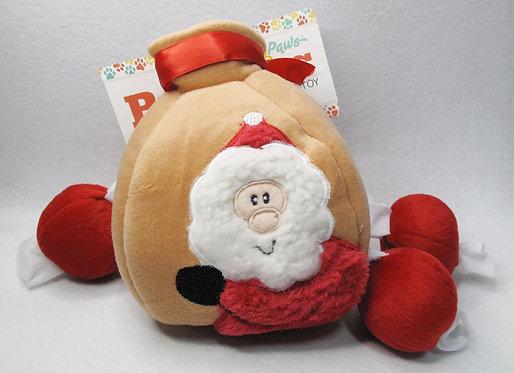D01700 Zippy Paws Holiday Burrow-Santa's Gift Bag