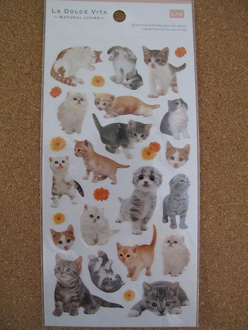 D00160 La Dolce Vita 貓貓貼紙 (A款)