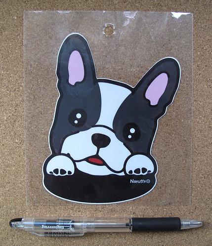D00809 防水PVC貼 - 法國鬥牛犬