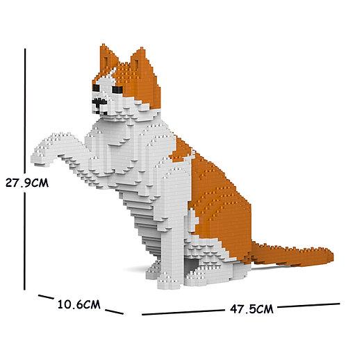 Orange & White Cat 12S-M03 (需訂貨)