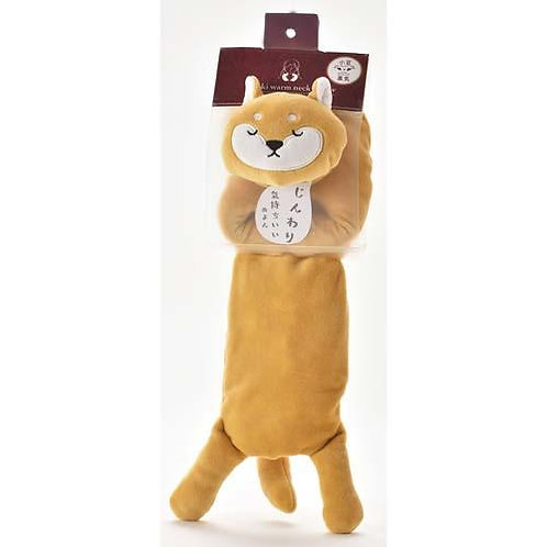D02901 柴犬豆豆頸枕(可加熱)