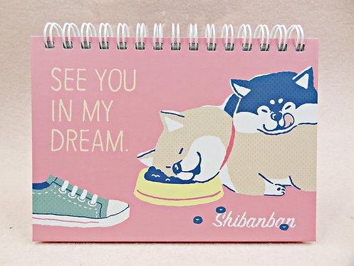 D02240_4 Shibanban 硬面 Notebook (56111)