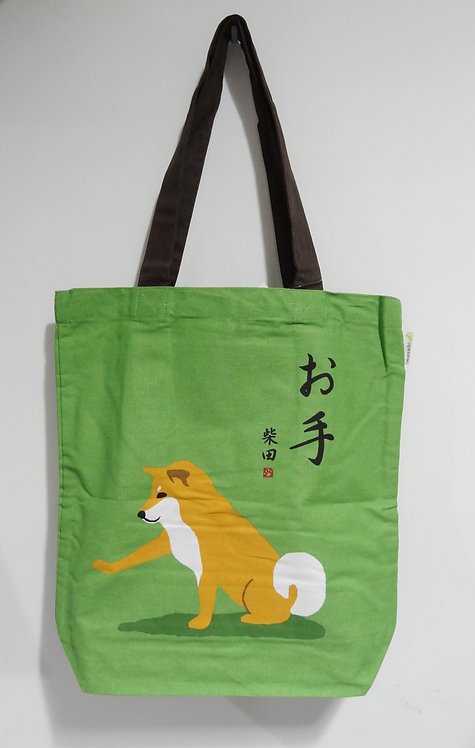 D01799_14 柴田tote bag(綠)