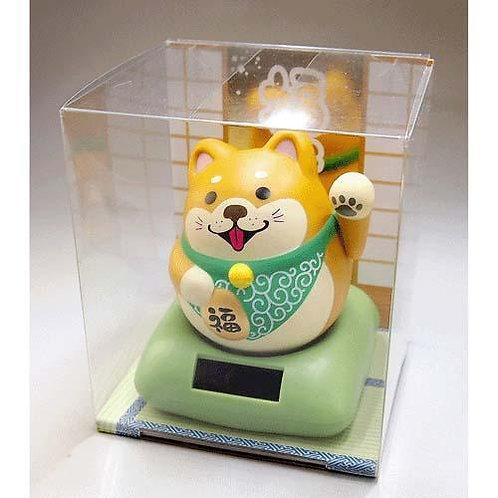 D03148 ソーラー幸せ招き犬