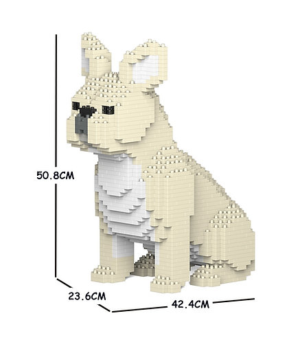 Jekca 法國老虎狗 French Bulldog 04C-M02 M size (需訂貨)