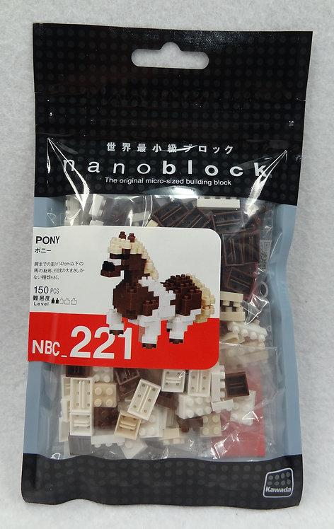 nanoblock NBC_221 Pony