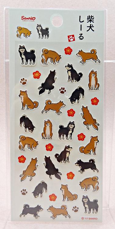 D02314 Sanrio柴犬貼紙(JNP-48-8)