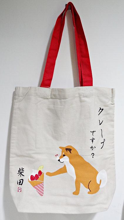 D01799 _43 柴田tote bag (クレープしばたさん)