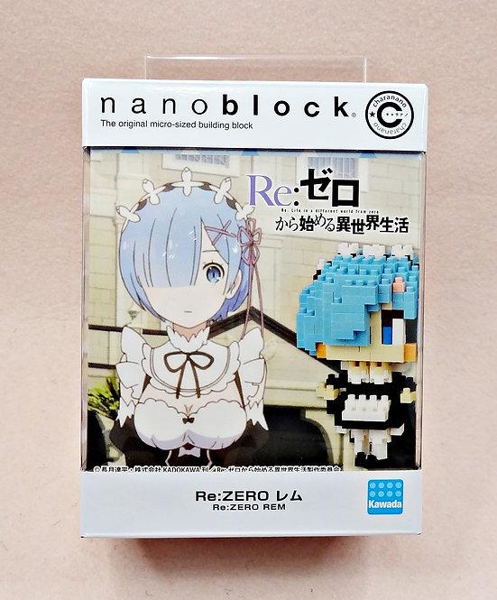 nanoblock CN-17 Re:Zero Rem