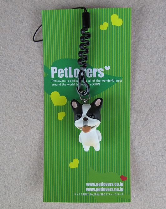 D01102 Petlovers 電話繩 - 法國鬥牛犬