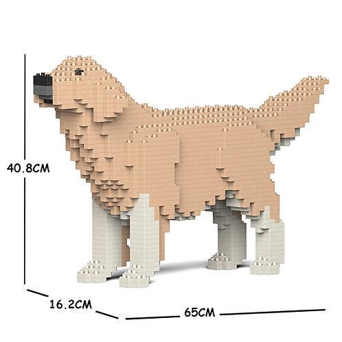 金毛尋回犬 Golden Retriever 02C-M01 M size (需訂貨)