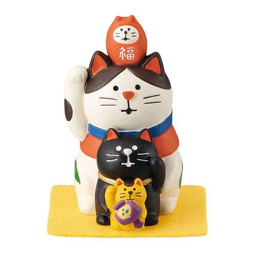 828-654 concombre 福重ね招き猫