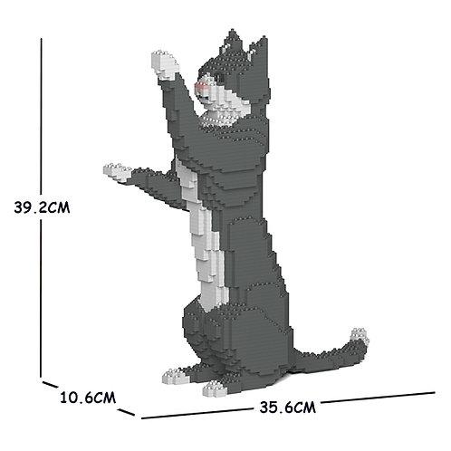 Grey Tuxedo Cat 05S (需訂貨)