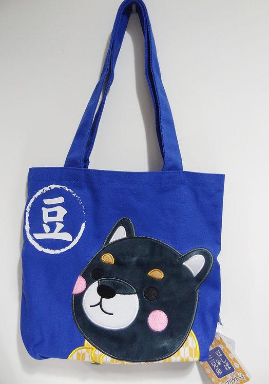 D02029_2 豆柴三兄弟tote bag_豆次郎