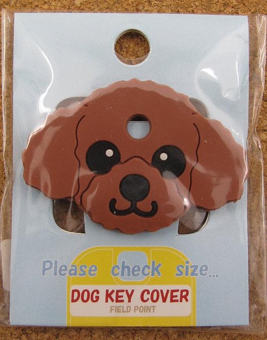D00357 狗狗匙套 Dog Key Cover 貴婦犬 (深啡)
