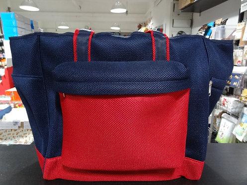 D02129_2 網袋背包_加大_深藍紅
