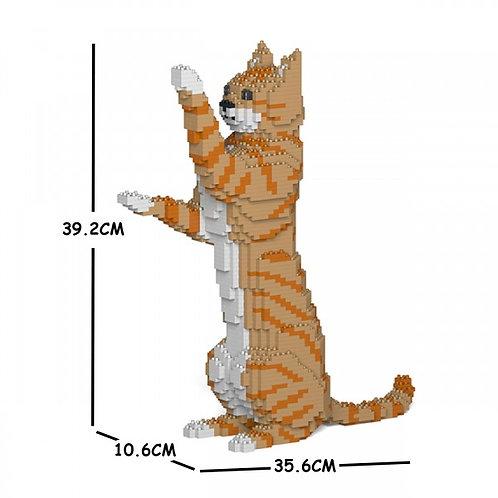 Orange Tabby Cat 14S-M01  (需訂貨)
